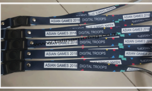 Tali Name Tag Asian Games 2018